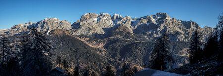 views of the mountains: Brentas dolomites
