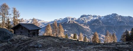 Brenta's dolomites Stock Photo