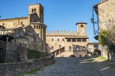 Italian medieval town