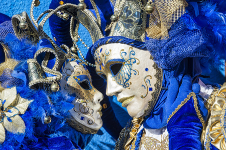 article of clothing: Venice carnival Stock Photo