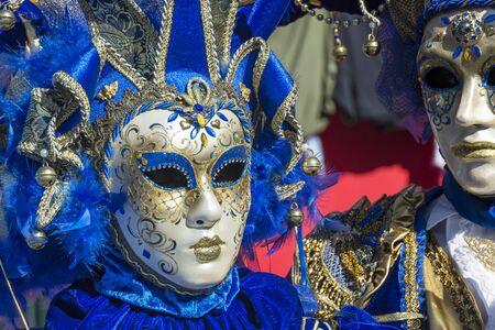 venice: Venice carnival Stock Photo