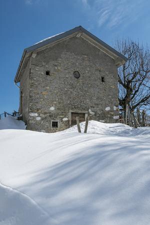 farmhouse: Alpine farmhouse