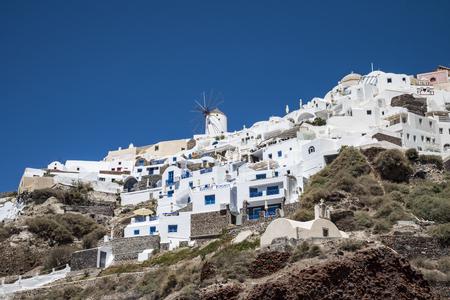 oia: Oia ( Santorini )