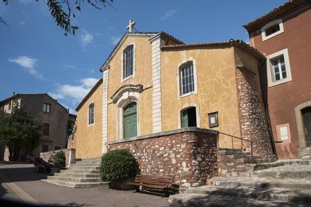 roussillon: Roussillon church