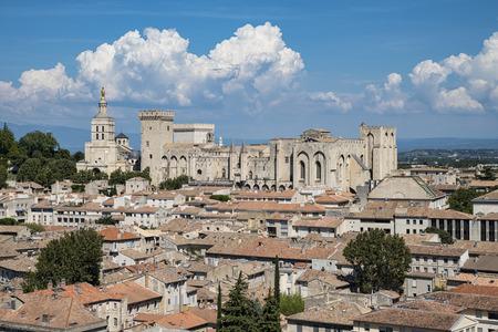 Avignon landscape Editorial