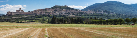 assisi: Assisi landscape Stock Photo