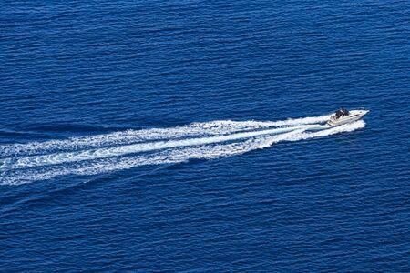 motorboat: Motorboat wake