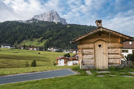 sella: Dolomites landscape Stock Photo