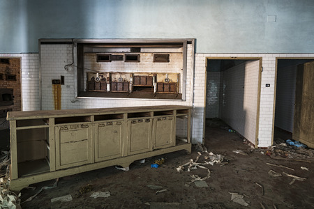 abandoned: Abandoned kitchen