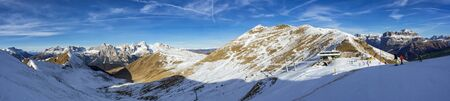 ski resort: Dolomites ski resort