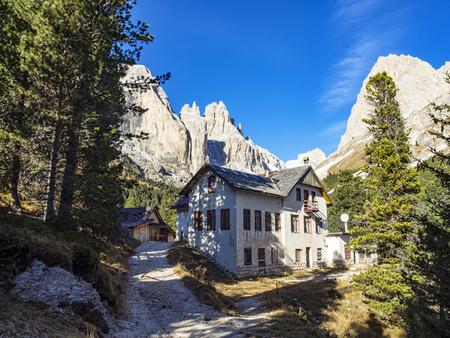 vajolet: Dolomites landscape Editorial