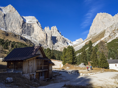 Dolomites landscape Editorial
