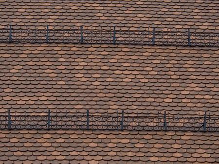 Old alpine roof
