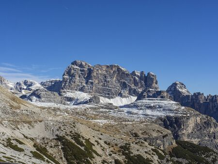 Croda dei Toni mountain