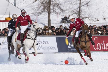 elite: Sankt Moritz 01282017 Snow Polo world Cup Editorial