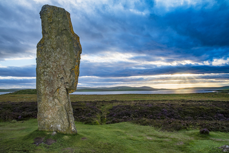 Brodgard (スコットランド) のリング 写真素材