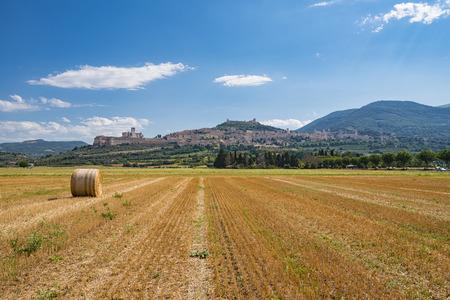 Assisi landscape Stock Photo