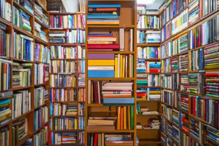Book store Archivio Fotografico
