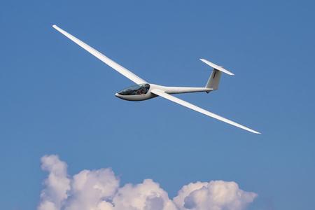 Zweefvliegtuig vliegen Stockfoto