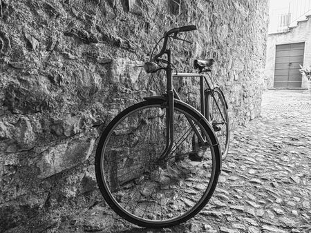 Old Bicycle in an alley