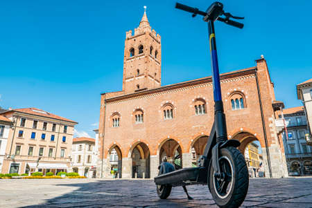 Scooter rental sharing in an Italian town