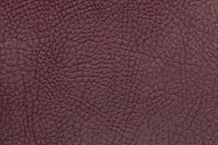 maroon leather: Dark burgundy leather texture background. Closeup photo. Reptile skin. The skin of a crocodile or a snake, Stock Photo