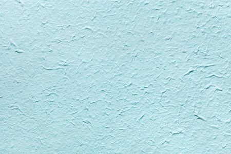 cerulean: Decorative light soft blue color paper, imitates the old plaster or vintage azure surface of the facade. Cerulean painted rough wall.
