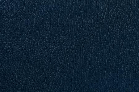 azul marino: Armada textura de cuero azul de fondo con el patrón, primer plano.