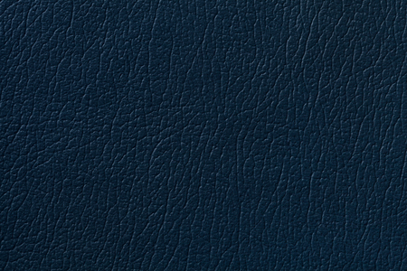 azul marino: Navy blue leather texture background with pattern, closeup.