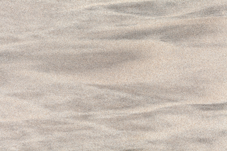 Dry sand on the ocean shore texture background.