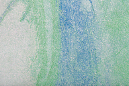 Abstract art background light green, blue and white color. Multicolor painting on canvas. Fragment of artwork. Texture backdrop. Decorative olive wallpaper. Structure of paper.