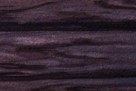 Abstract art background dark brown and black colors. Watercolor painting on canvas with gradient. Fragment of artwork on paper with waves pattern. Texture backdrop, macro.