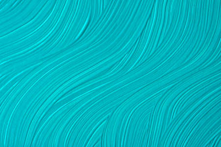 Abstract art background dark turquoise and blue colors. Watercolor painting on canvas with strokes and splash. Acrylic artwork on paper with olive spotted pattern. Texture backdrop.