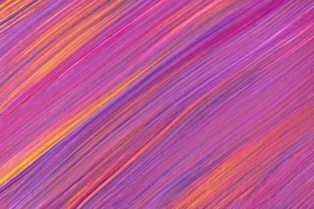 Abstract fluid art pattern dark purple colors. Liquid marble. Acrylic painting on canvas with lilac gradient.