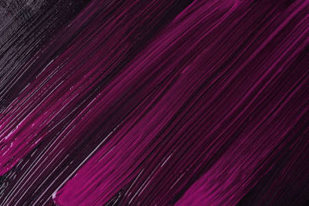 Abstract fluid art background dark purple and black colors. Liquid marble. Acrylic painting on canvas with wine gradient. Watercolor backdrop with striped pattern. Archivio Fotografico