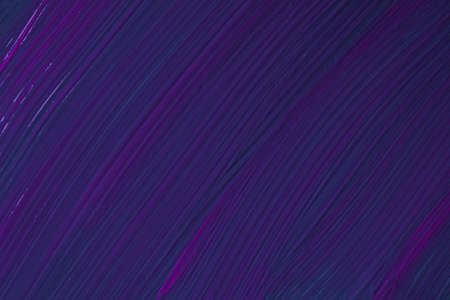 Abstract fluid art background navy blue and purple colors. Liquid marble. Acrylic painting on canvas with indigo gradient. Watercolor backdrop with striped pattern. Stone marbled wallpaper.