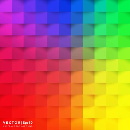 Abstract vector background. Colorful geometric background vector illustration.