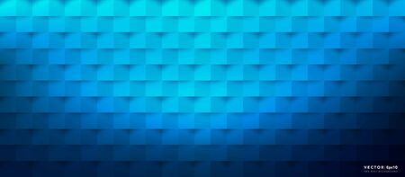 Abstract vector background. Blue geometric background. Vector illustration. Eps10. Ilustração