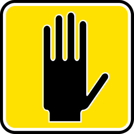 piktogramm: Stop Sign