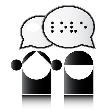 braille: Alfabeto Braille Vectores