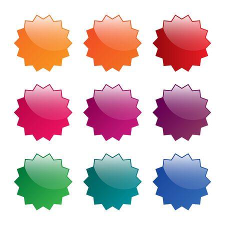glanz: Blank labels  Illustration