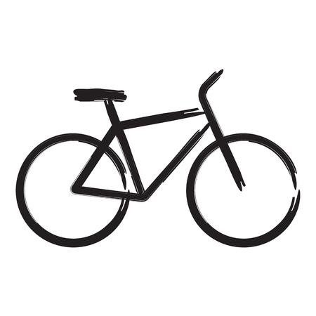 fiets: Vector illustratie van de fiets