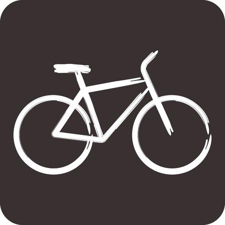 Vektor-Illustration von Fahrrad