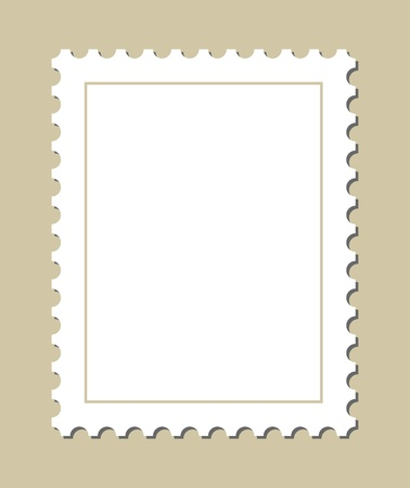Blank Stamp Template Royalty Free Cliparts, Vectors, And Stock