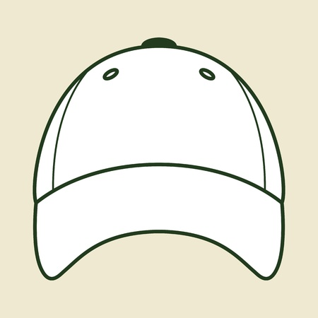 abbildung: Vector baseball cap  Illustration
