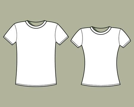 t shirt template: Blank t-shirts template