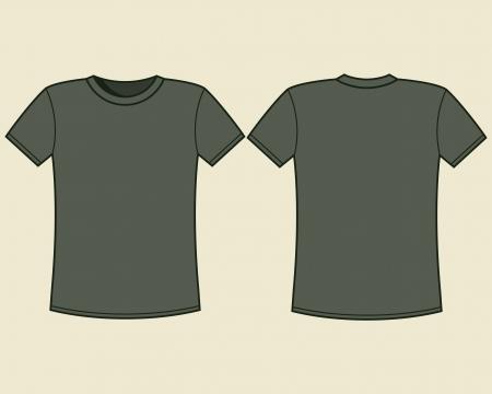 blank shirt: Blank t-shirt template