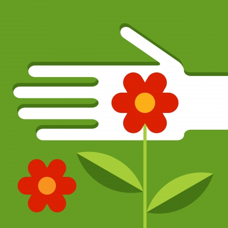 paysagiste: L'entretien du jardin Illustration