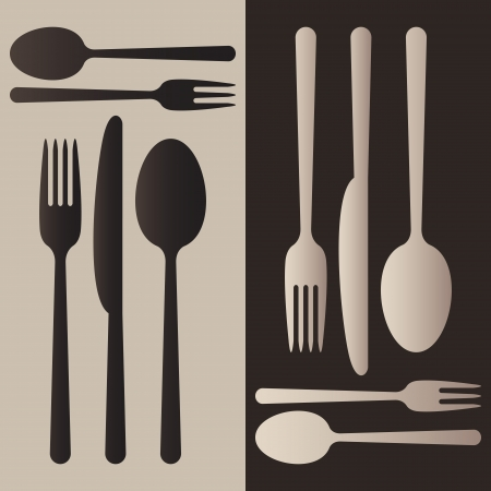 spoon and fork: Cutlery