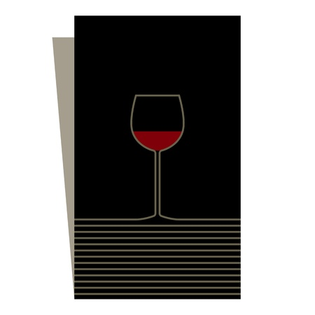 Wine list design  Stock Vector - 14565736